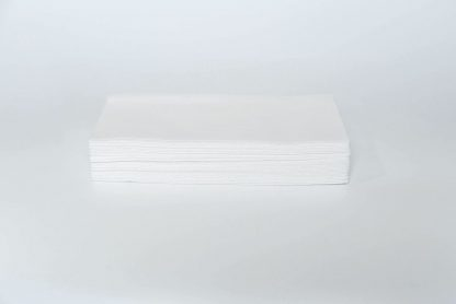 SimuLinen White Bathroom Guest Hand Towel