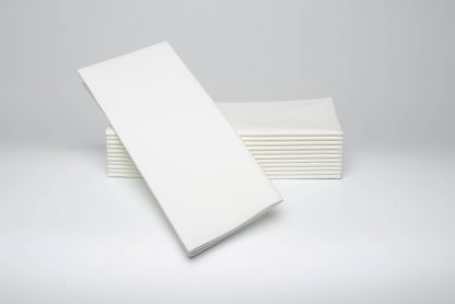 SimuLinen Signature White Dinner Napkin