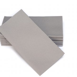 SimuLinen Signature Colored Grey Dinner Napkins